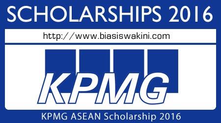 KPMG ASEAN Scholarship 2016