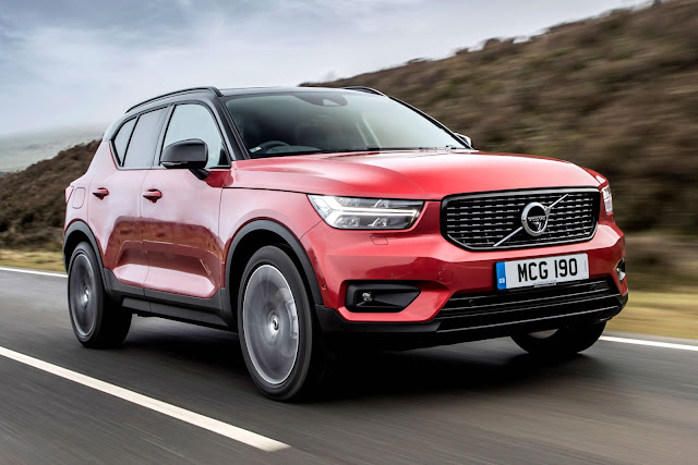 2019 Volvo XC40 Red hd wallpaper
