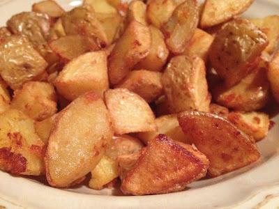 Patatas fritas con cáscara - Patatas jóvenes - Patatas para acompañar con salsas - Receta - ÁlvaroGP - el gastrónomo