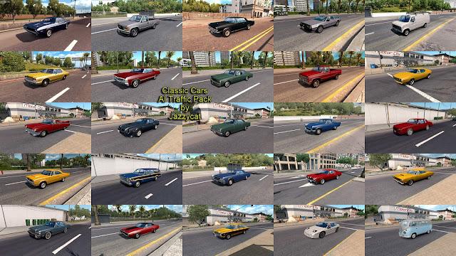 ats classic cars ai traffic pack v3.3 screenshots 3