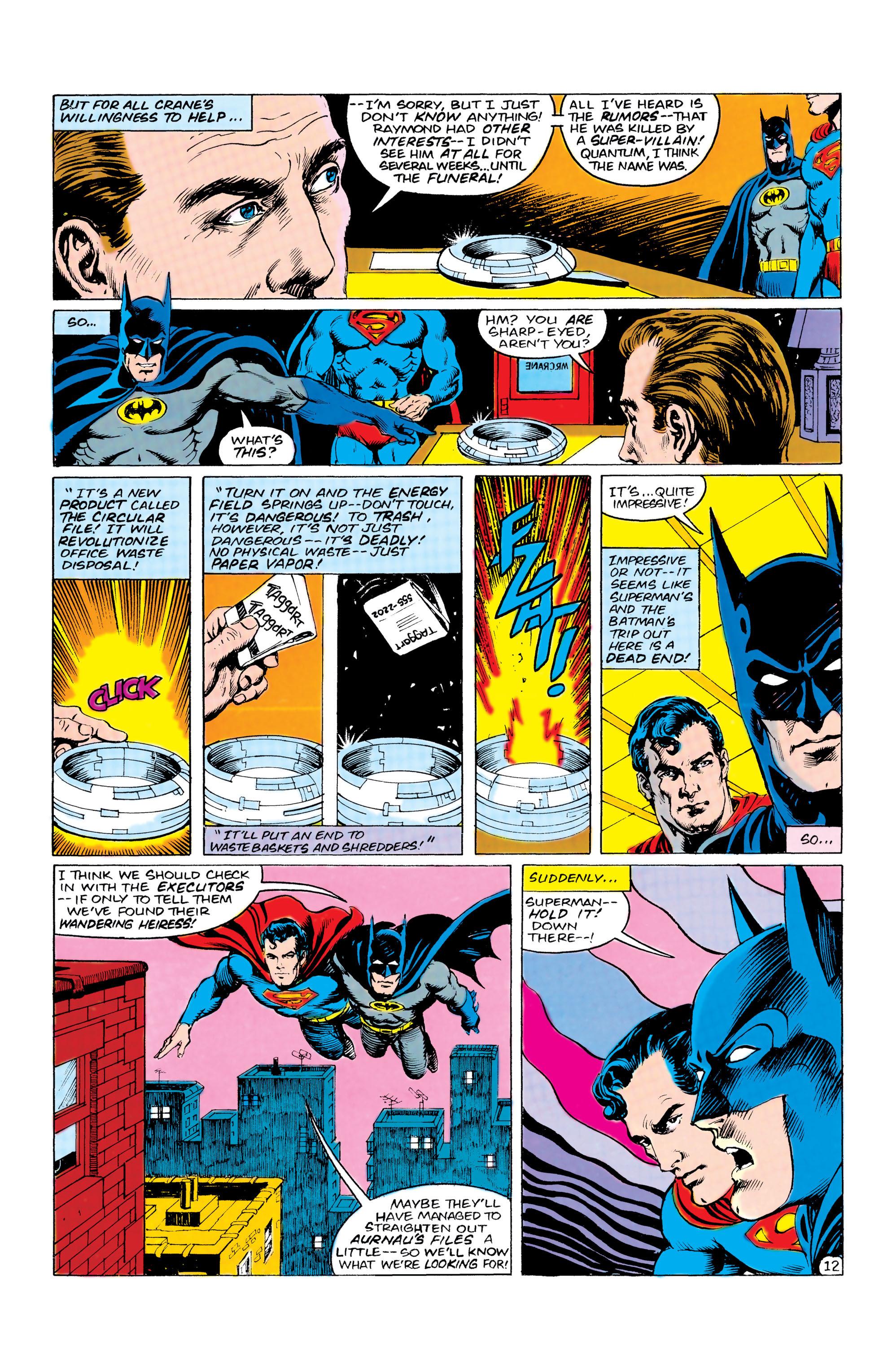 Read online World's Finest Comics comic -  Issue #309 - 13