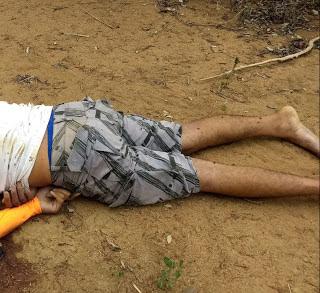 Corpo encontrado crivado de balas em Miguel Calmon, pode ser de jovem raptado em Jacobina
