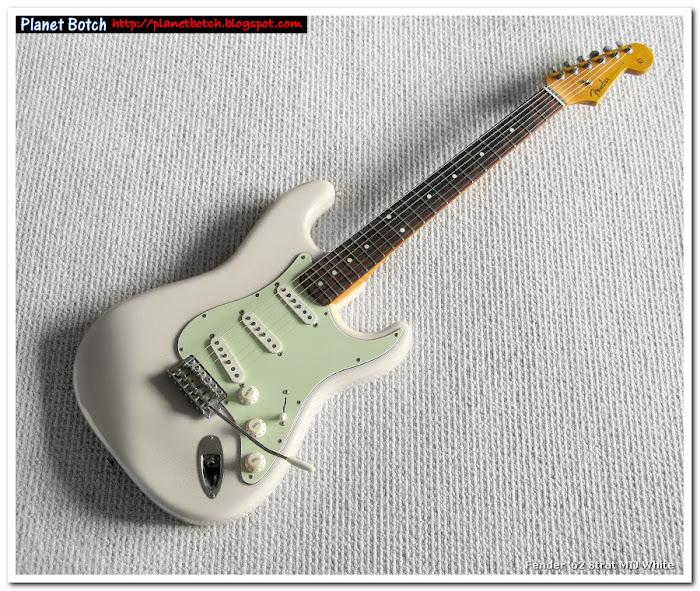 1980s Fender MIJ '62 reissue in Vintage white