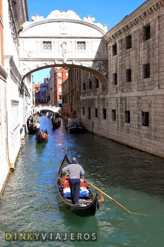 Venecia. Puente de los Suspiros