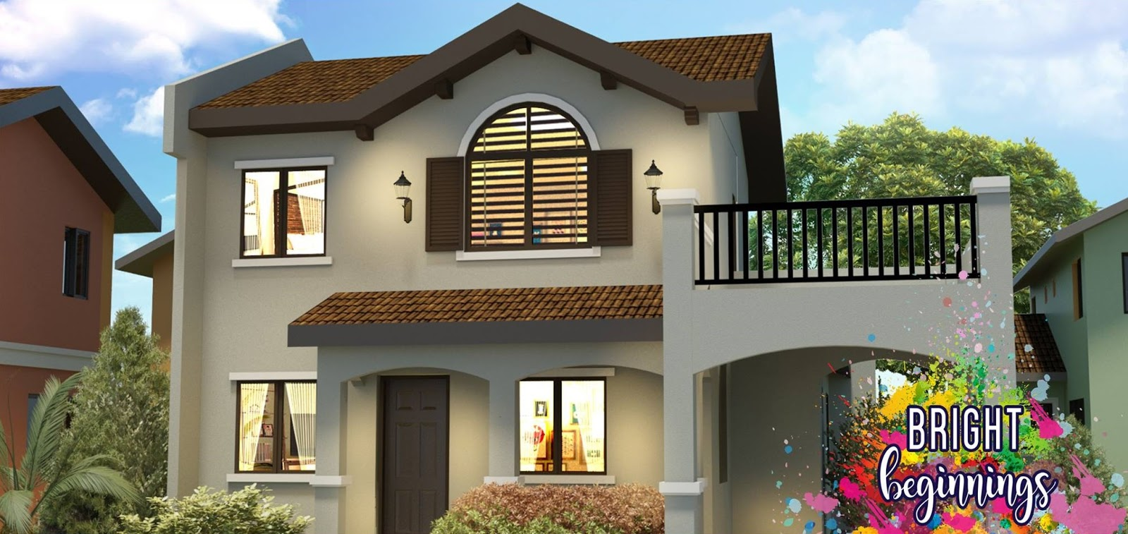 Crown Asia Philippines Ponticelli Designer 142 Sf Affordable House For Sale Daang Hari