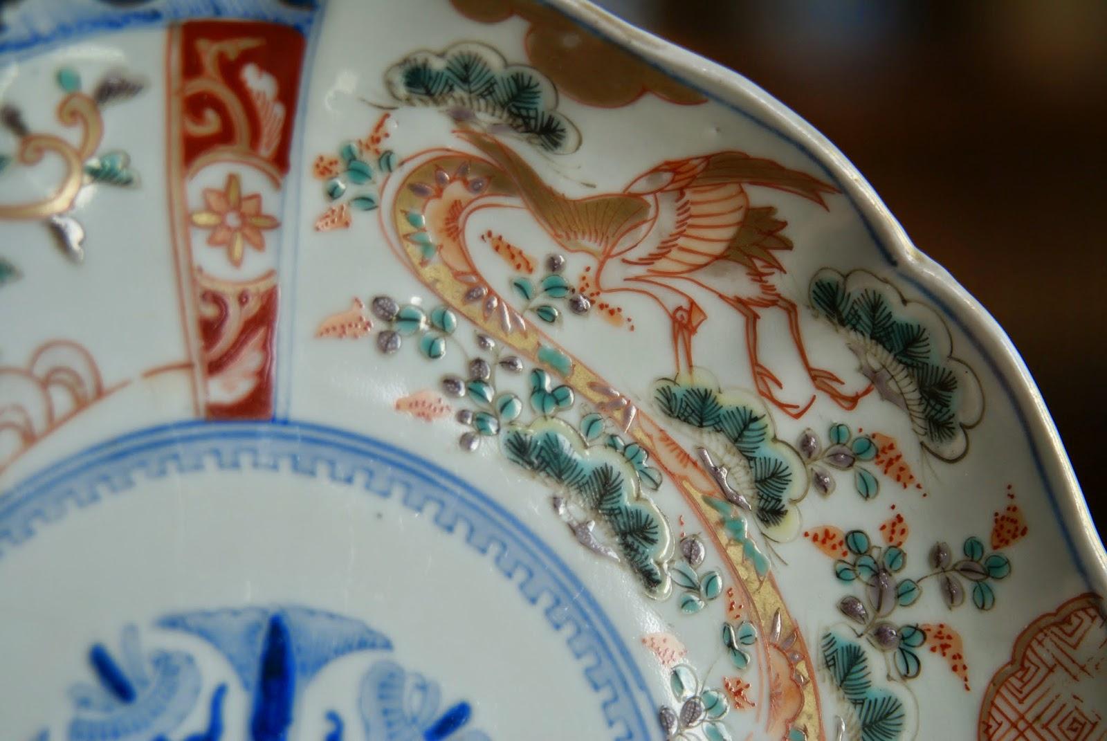 Le d cor de la porcelaine sur ou sous couverte for Decoration sur porcelaine