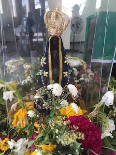 Católicos de Baraúna recebem imagem Peregrina de Aparecida