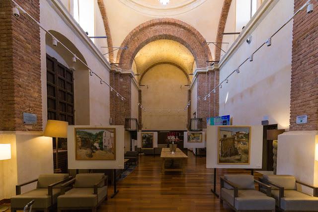 Antigua capilla remodelada del Hotel Convento Aracena