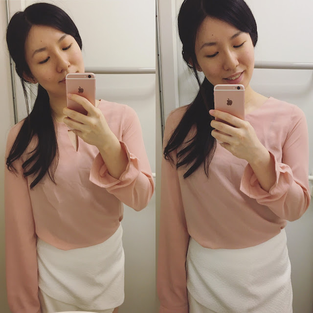 coco fashion blog review, coco fashion blouse, coco fashion shop review, coco fashion wish list, keyhole blouse coco fashion, keyhole blouse pink, pink blouse outfit