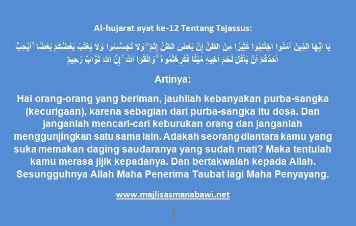 surah-al-hujarat-ayat-12-tentang-tajassus