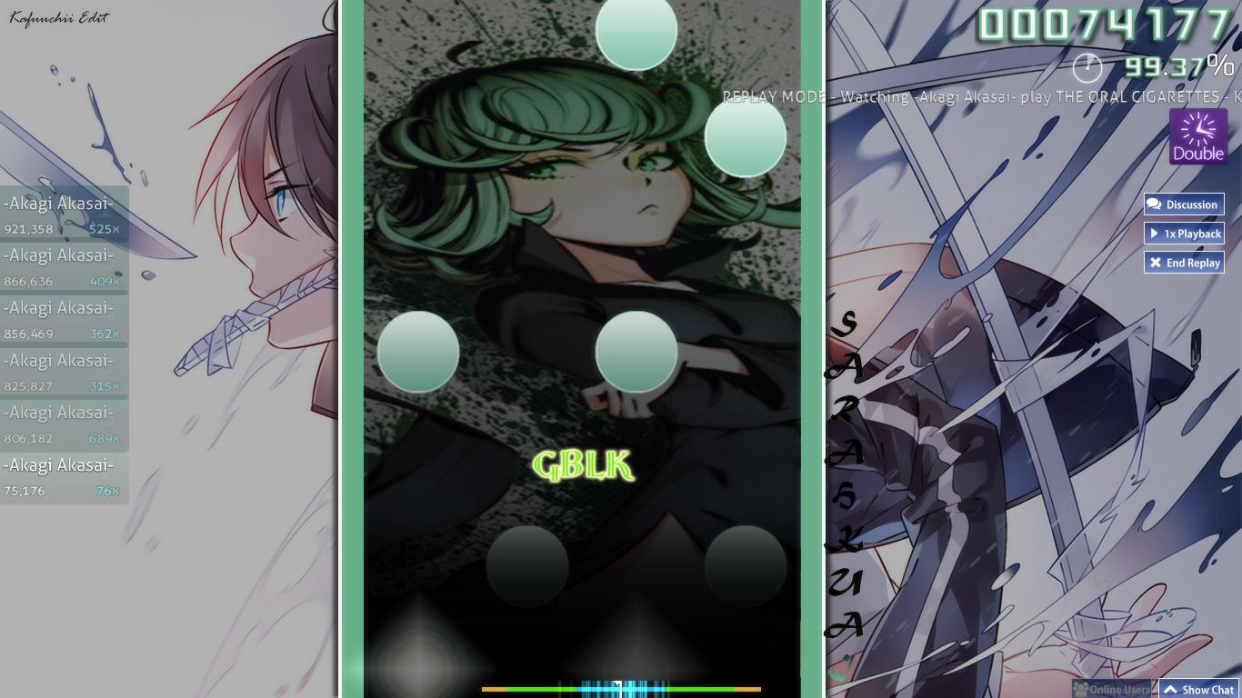 Osu!mania Skin Green Related Keywords & Suggestions - Osu