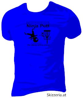 Disc Golf - Extreme Ninja Putt