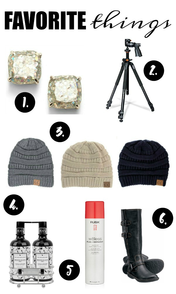 Favorite things, gift guide