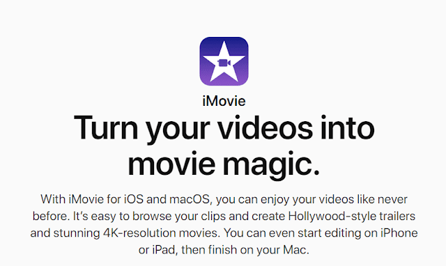 iMovie - 15+ Best Video Editing Software For YouTube