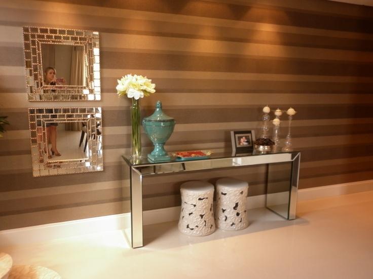 Armario Oriental Barato ~ Construindo Minha Casa Clean Consultoria da Sala e Lavabo Ganhadoras do Concurso Cultural!