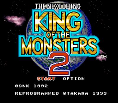 【SFC】怪獸之王2原版+能源不滅版,King of the Monsters 2!