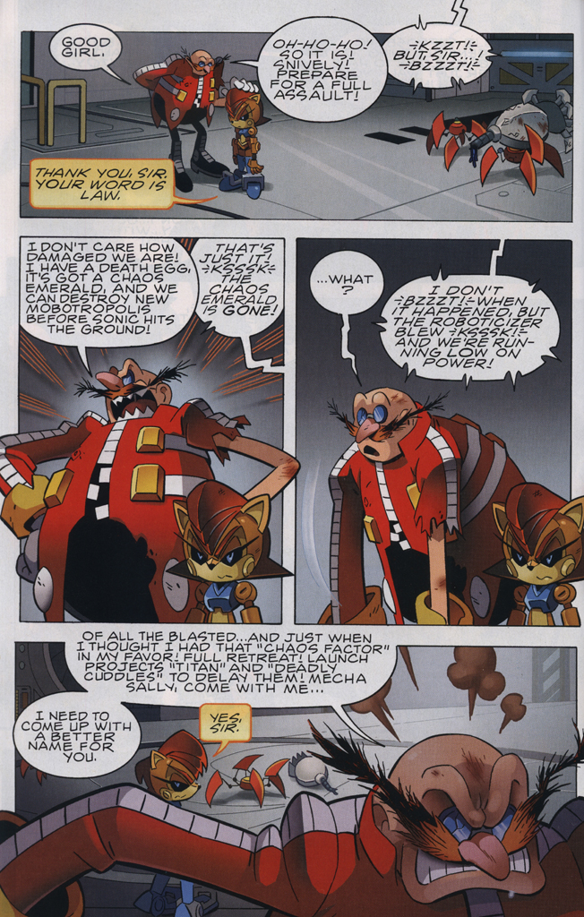 Read online Sonic The Hedgehog comic -  Issue #231 - 6