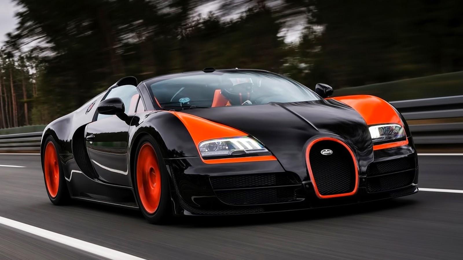 Bugatti Veyron Orange Full Hd Wallpaper Galery Car Wallpaper