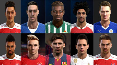 International Facepack 2016 Pes 2013 By Nadir Bekkar