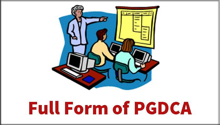 PGDCA full form in Hindi