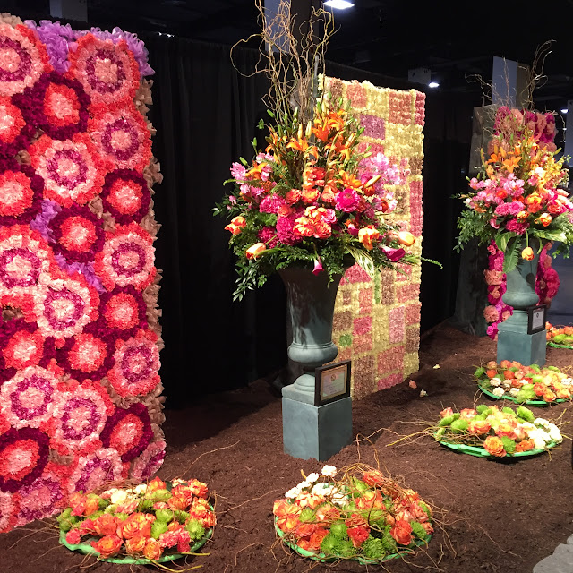 DISPLAY BY MASSACHUSETTS FLORIST COALITION DISPLAY BY HEIMLICH NURSERIES | Boston Flower Show 2017