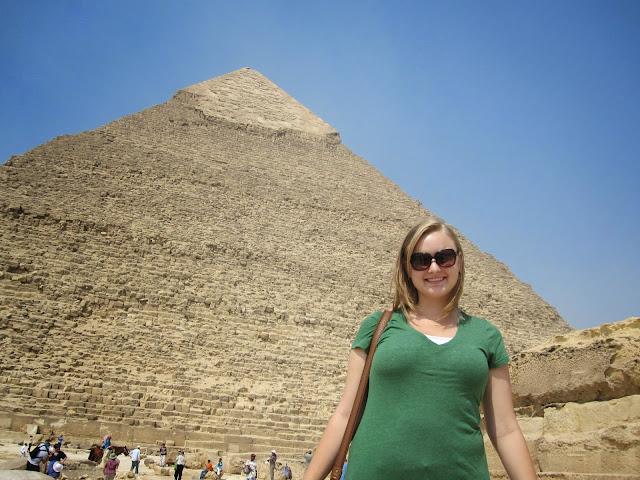 The Pyramids   Giza, Egypt