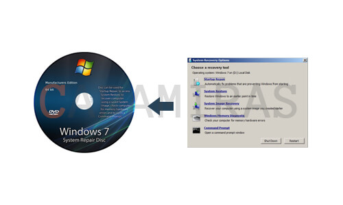 create system repair disc windows