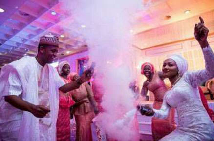President mohammadu Buhari's Daughter and Billionaire's Son Ahmed Indimi having fun After Their Wedding | GISTMERIT ENTERTAINMENT