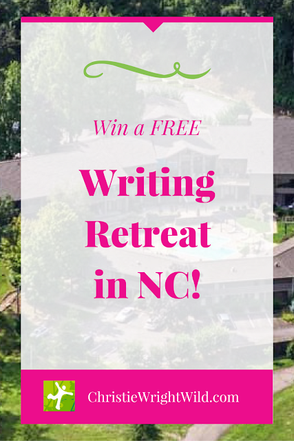 Win a FREE Writing Retreat in NC | writer resources | conferences | retreats | trips | working vacations | contests