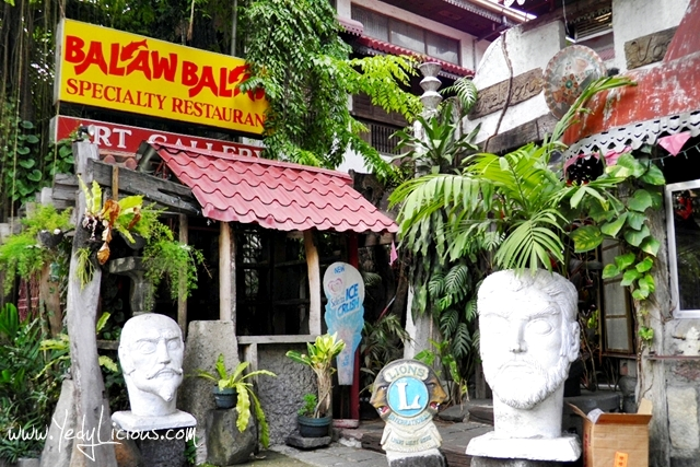 Balaw-Balaw Specialty Restaurant and Folk Art Museum in Angono Rizal Blog Review YedyLicious Manila Food Blog Yedy Calaguas Published Magazine Article