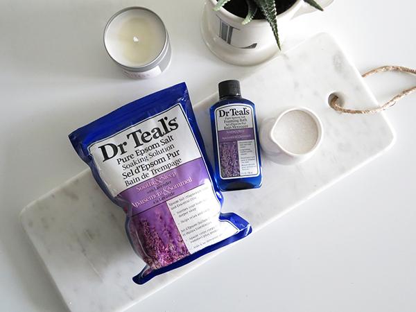 Dr. Teal's Epsom Salt Soak & Foaming Bath In Lavender