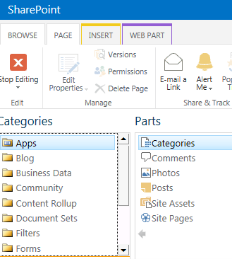 Ms sharepoint and asp net blog how to expand sharepoint for Sharepoint 2013 blog template