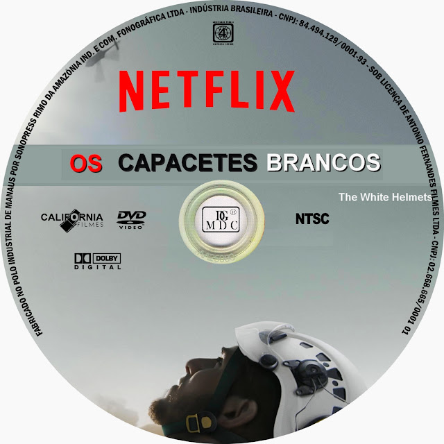 Label DVD Os Capacetes Brancos
