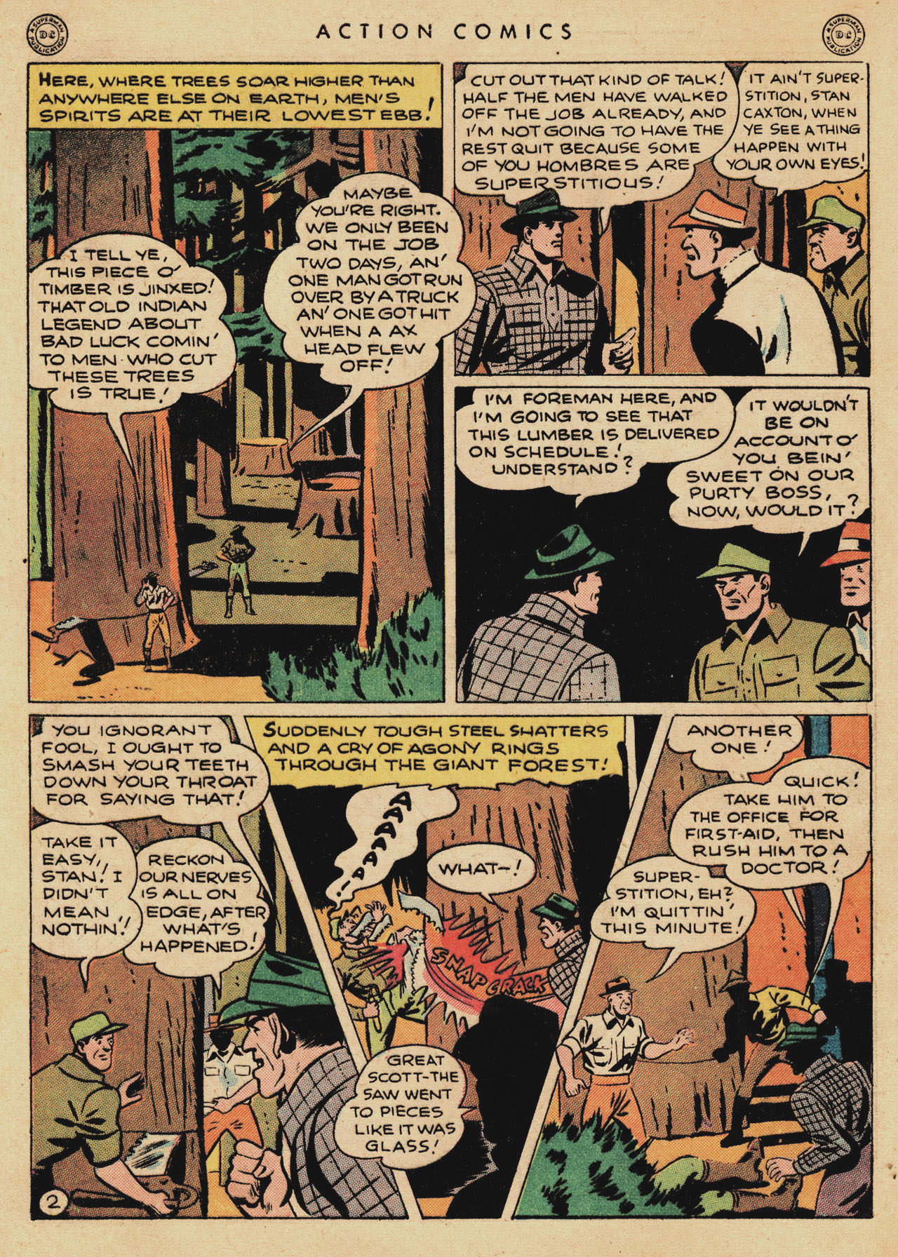 Read online Action Comics (1938) comic -  Issue #94 - 4