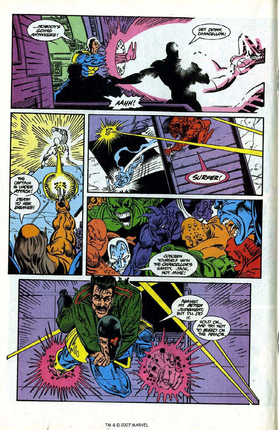 Read online Silver Surfer (1987) comic -  Issue #78 - 18