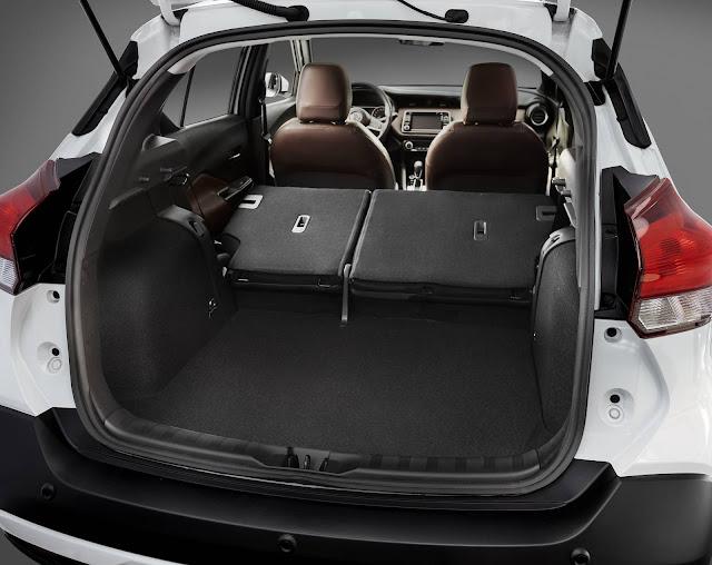 Nissan Kicks 2017 - porta-malas