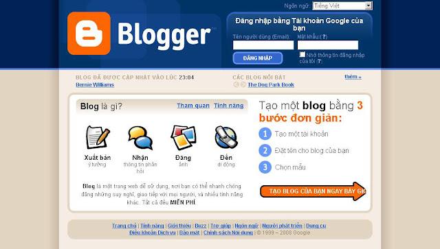 Blogger la gi