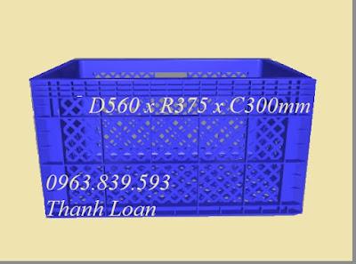 Rổ nhựa trưng bày, rổ nhựa đựng hàng may mặc 0963.839.593 Hs013-15