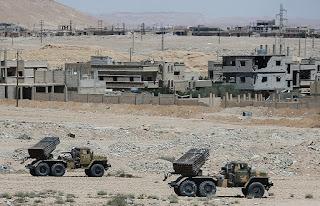 Syrian Army Advancing Slowly North of Deir Ezzur
