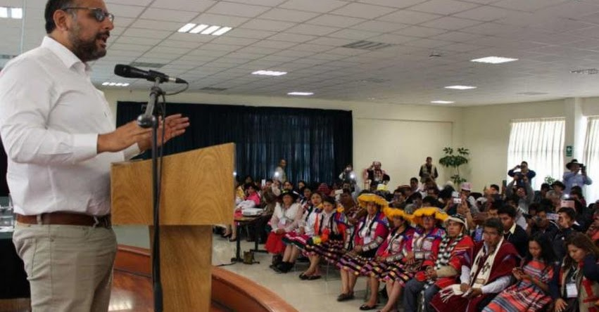 MINEDU refuerza aprendizaje escolar de pueblos originarios