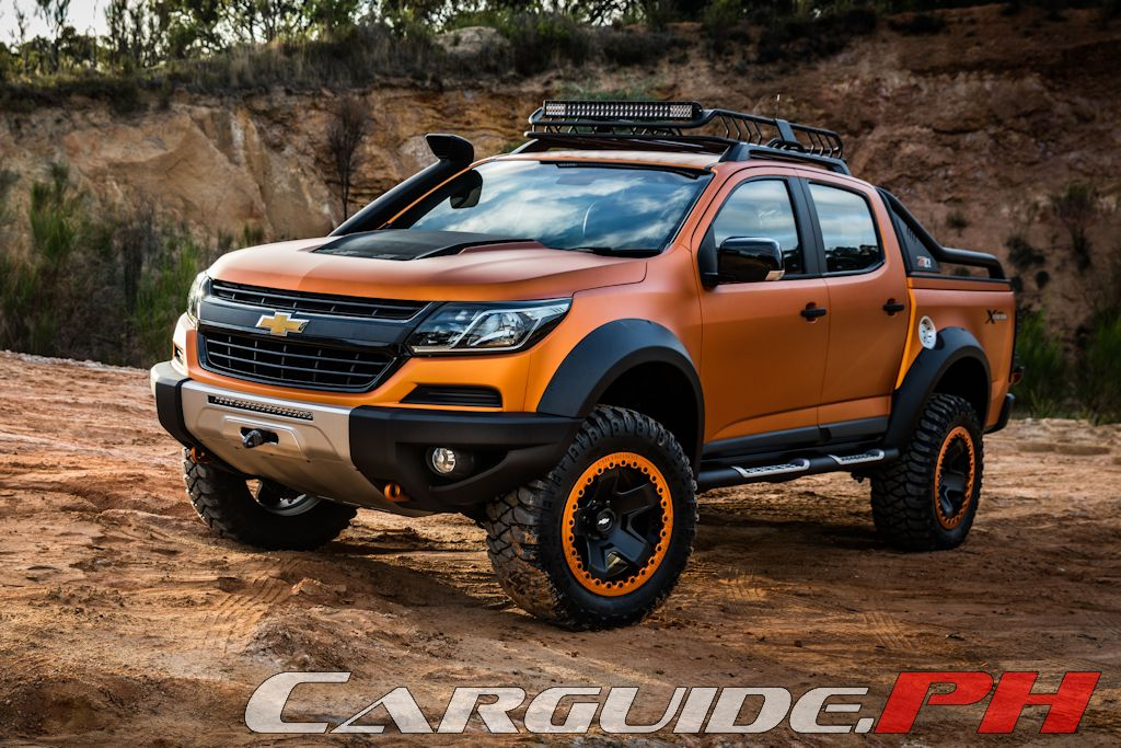Bangkok Motor Show 2016: Chevrolet Hints at 2017 Colorado and Trailblazer with New Concepts (w ...