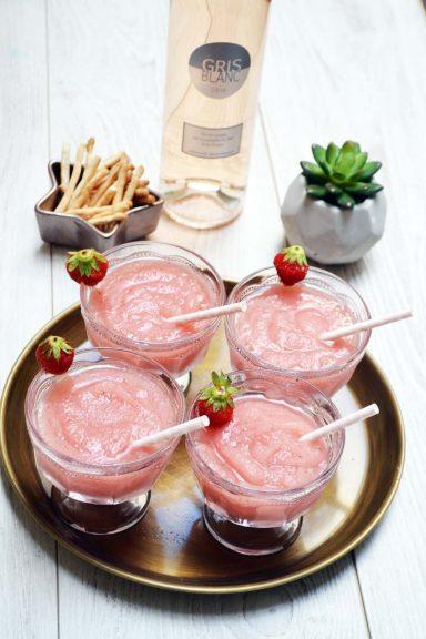 recettes estivales - recette culinaires faciles - recettes ete facile - recette ete rapide - recette ete dessert - frozé - cocktail