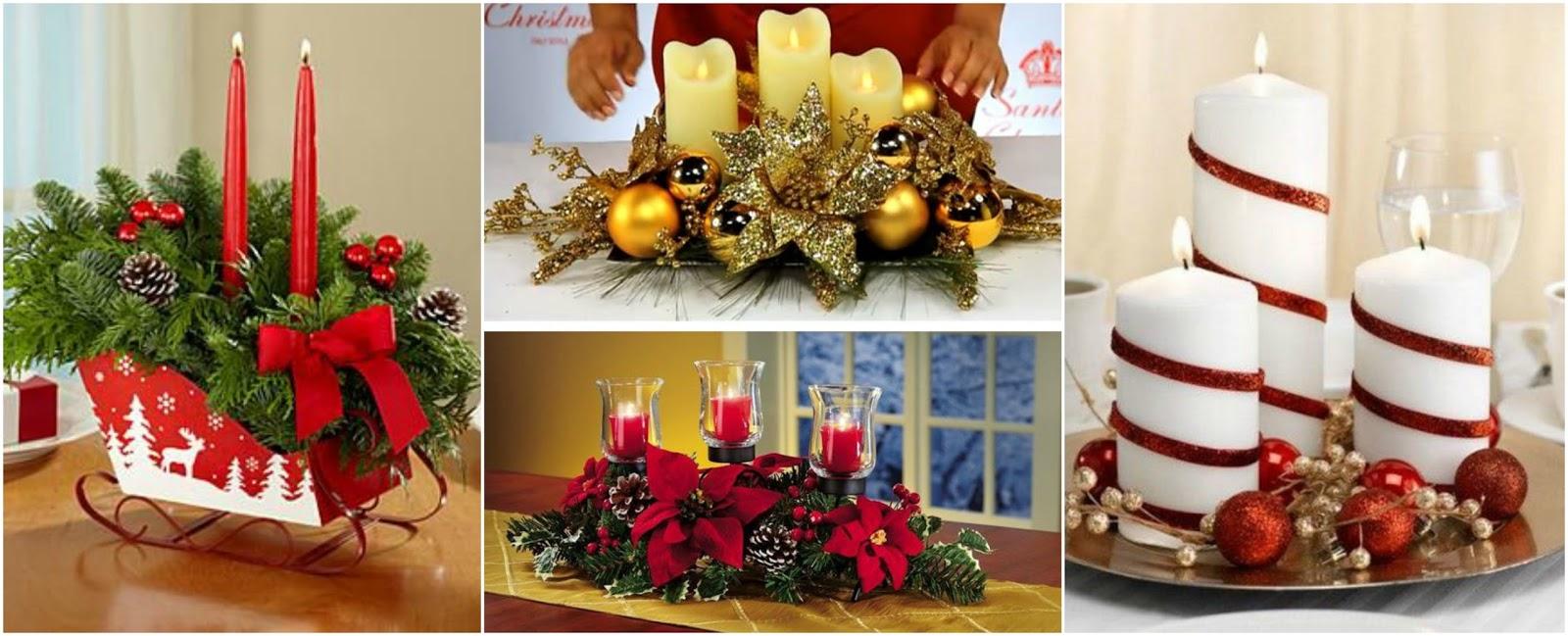 V deo tutorial aprende c mo hacer centros de mesa for Centros navidenos