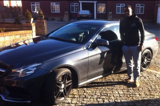 Jeffrey Schlupp crashes £190,000 Lamborghini
