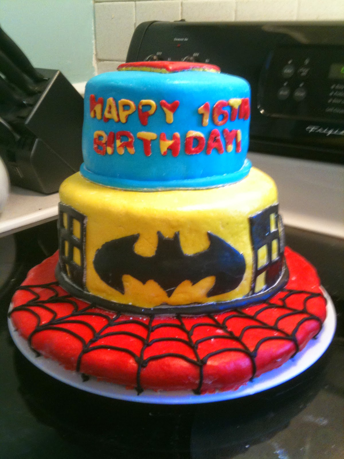 Top 22 Easy Superhero Cake Ideas Cakes Gallery
