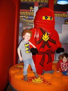 Full Size lego Ninja