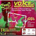 Voice of Night Runner • 2018