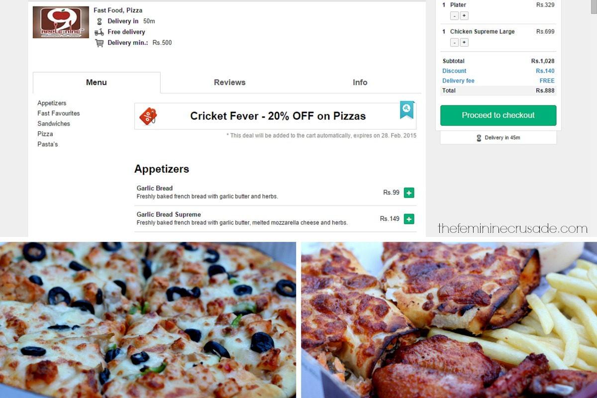 Foodpanda - Satisfying My Pizza Cravings