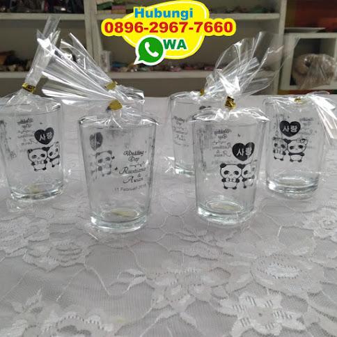 gambar gelas souvenir pernikahan 52320