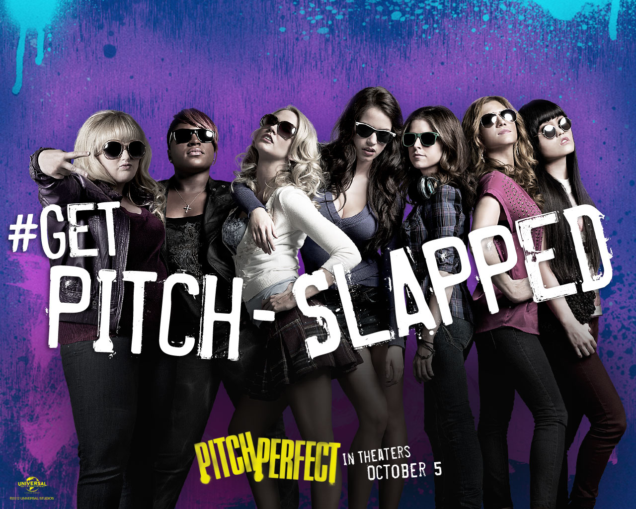Pitch Perfect (2012) movie poster   Pitch Perfect 2012 Movie Poster